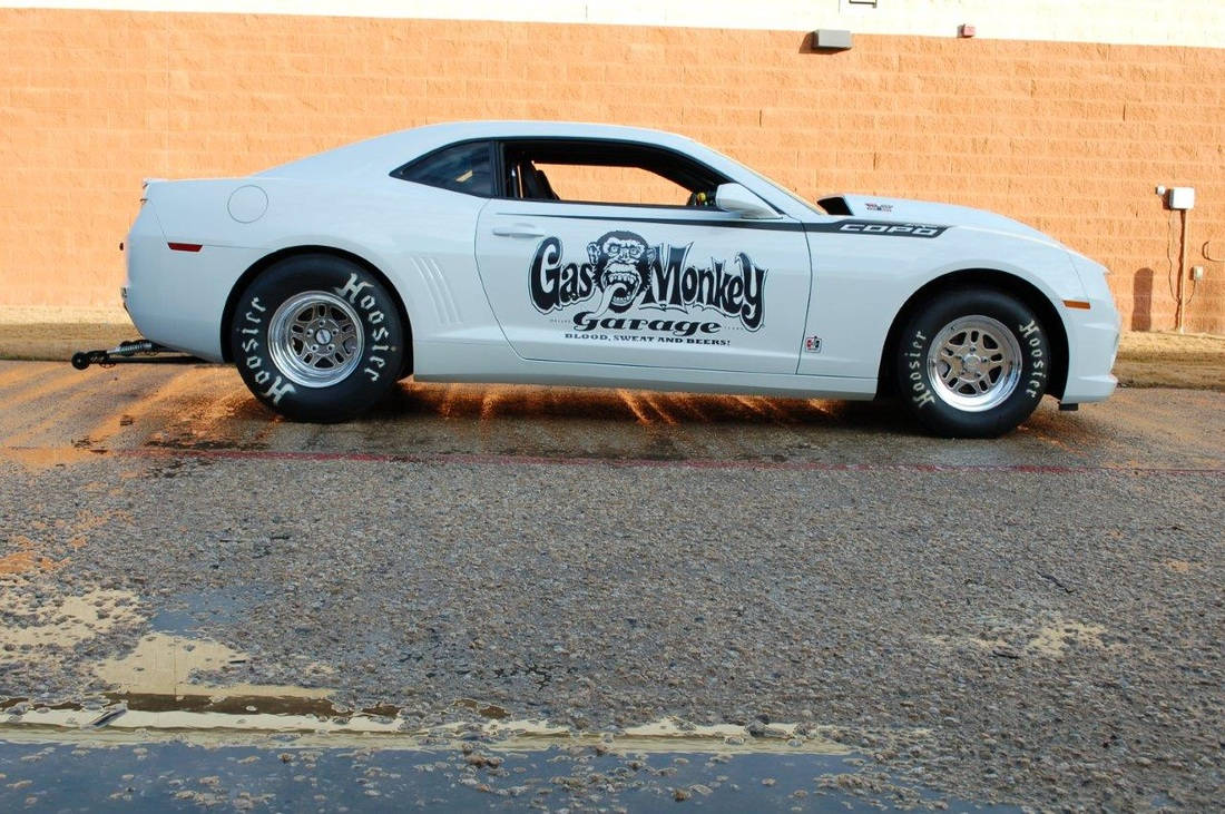 car is the only car with factory installed gas monkey garage decals